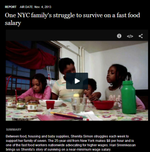 One NYC Family's Struggle to Survive on a Fast Food Salary
